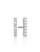 Sif Jakobs Siena Piccolo Silver Bar Studs