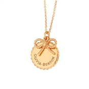 Olivia Burton Gold Bow Necklace