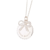Olivia Burton Silver Bow Necklace