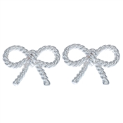 Olivia Burton Silver Bow Earrings