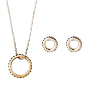 Pilgrim Gold Open Circle Gift Set