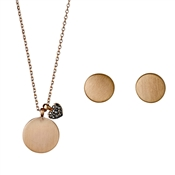 Pilgrim Rose Gold Disc Gift Set