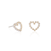 Daisy London Daisy Chain Heart Earrings