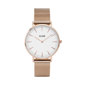 CLUSE La Bohème Rose Gold Mesh Watch