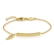 Nomination Angel Gold Bar Bracelet