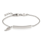 Nomination Angel Silver Bar Bracelet