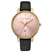 Ted Baker Black & Gold Kate Watch