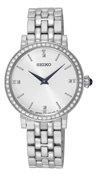 Seiko Silver Crystal Watch