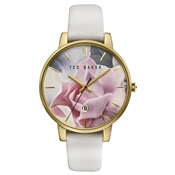 Ted Baker Mink Strap & Floral Dial Kate Watch