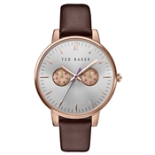 Ted Baker Burgundy Strap & Rose Gold Dial Liz Watch