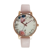 Ted Baker Pink & Floral Dial Kate Watch