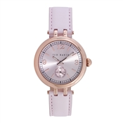 Ted Baker Pink & Rose Gold Lottee Watch