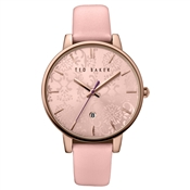 Ted Baker Pink & Rose Gold Damask Watch