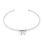 Argento Treasured Wish Upon A Star Bangle