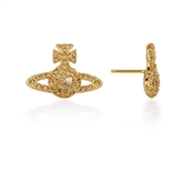 Vivienne Westwood Gold Grace Stud Earrings