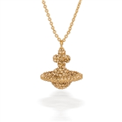 Vivienne Westwood Grace Gold Crystal Necklace