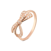 Argento Rose Gold Bow Ring