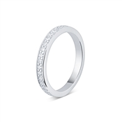 Argento Silver Eternity Ring