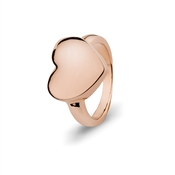August Woods Rose Gold Heart Ring