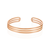 August Woods Rose Gold Open Bangle
