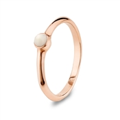 Argento Mother of Pearl Stacking Ring