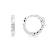 Argento Petite Hoop Earrings