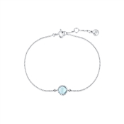 Argento March Birthstone Bracelet