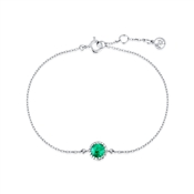 Argento May Birthstone Bracelet