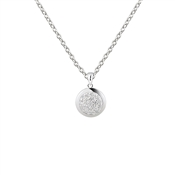 Argento Silver Pave Crystal Necklace