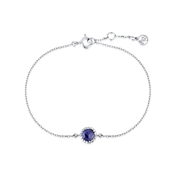 Argento September Birthstone Bracelet