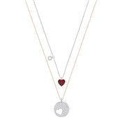 Swarovski Crystal Wishes Heart Necklace