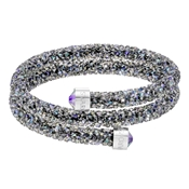 Swarovski Crystaldust Paradise Shine Double Bangle (Medium)
