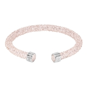 Swarovski Crystaldust Blush Pink Bangle  (Medium)