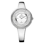 Swarovski Crystalline Pure Silver Watch