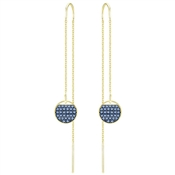 Swarovski Ginger Blue Earrings