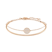Swarovski Rose Gold Double Bangle