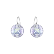 Swarovski Globe Blue Crystal Drop Earrings