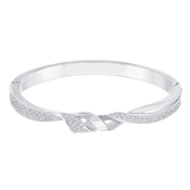 Swarovski Graceful Twist Bangle