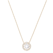 Swarovski Dancing Crystal Rose Gold Necklace