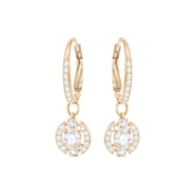 Swarovski Dancing Crystal Rose Gold Earrings