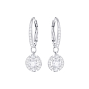 Swarovski Dancing Crystal Silver Earrings