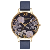Olivia Burton Enchanted Garden Navy Watch