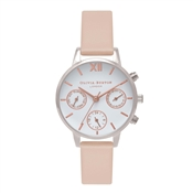 Olivia Burton Chrono Detail Nude Peach Watch