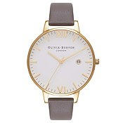 Olivia Burton Timeless Grey & Gold Watch