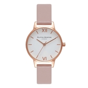 Olivia Burton Vegan Friendly Rose Sand Midi Watch