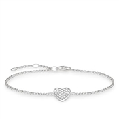 Thomas Sabo Crystal Heart Bracelet