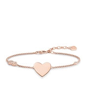 Thomas Sabo Rose Gold Infinity Heart Bracelet