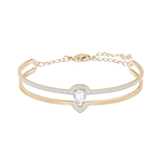 Swarovski Gallery Rose Gold & Pear Cut Bangle