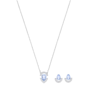 Swarovski Gallery Blue Stone Set