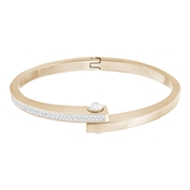 Swarovski Crystal Rose Gold Get Bangle (Large)